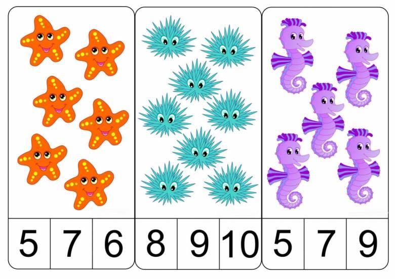 Цифры искать на картинках игры для детей